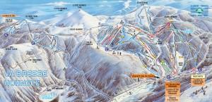 Piste Plan Skigebied